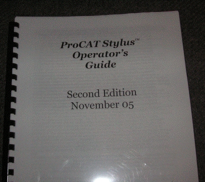 ProCAT Stylus Manual