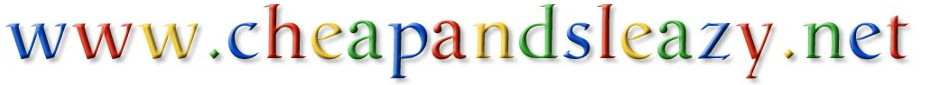 Cheap and Sleazy Logo via Google Logo Maker