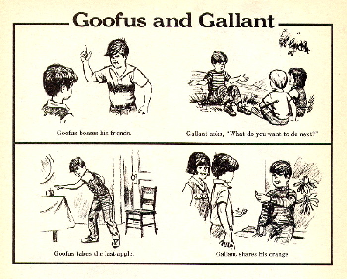 Goofus and Gallant
