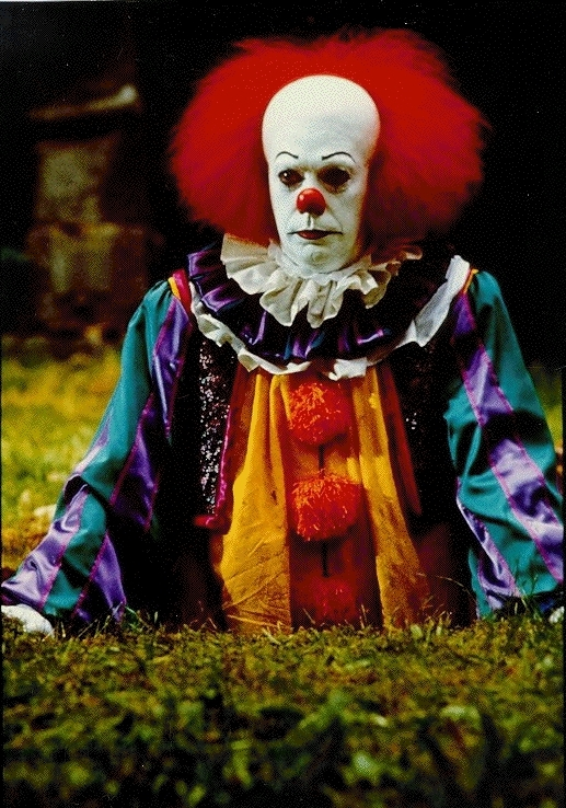 Tim Curry as IT, from the Stephen King mini-series