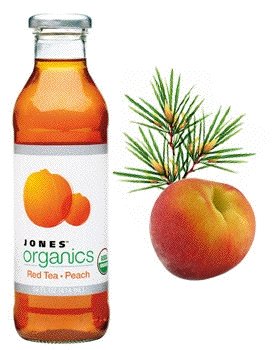 Jones Organic Red Peach Tea