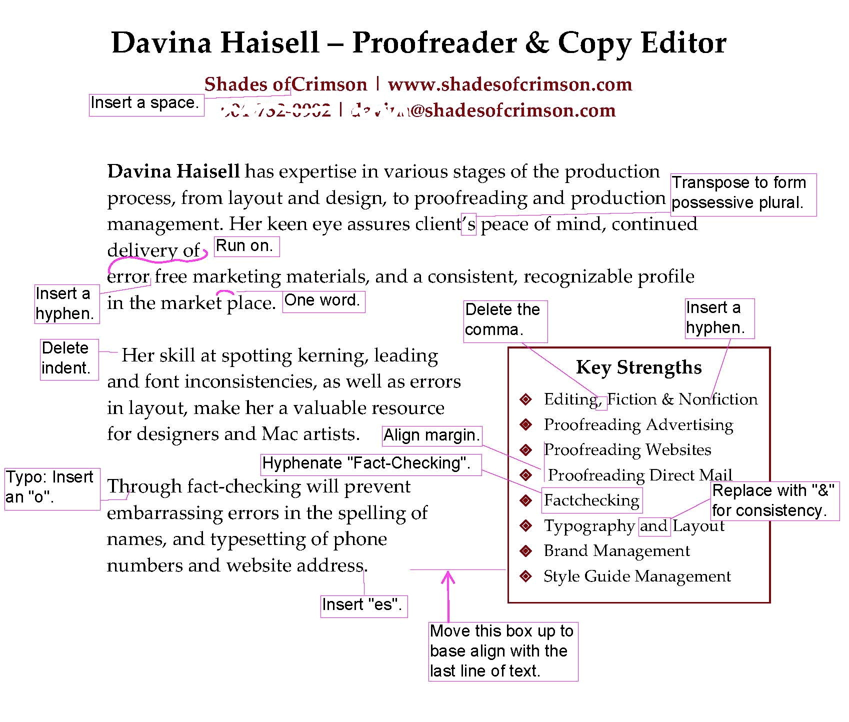 proofreading essays online