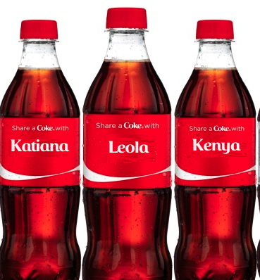 Share a Coke With the Family